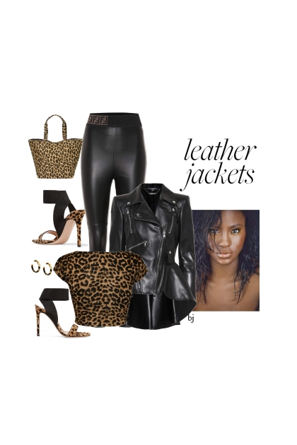 Animal Print and Leather