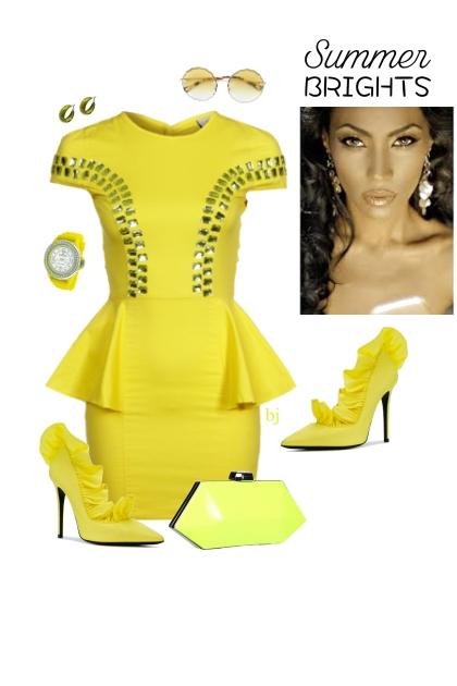 Haljina Yellow Dress