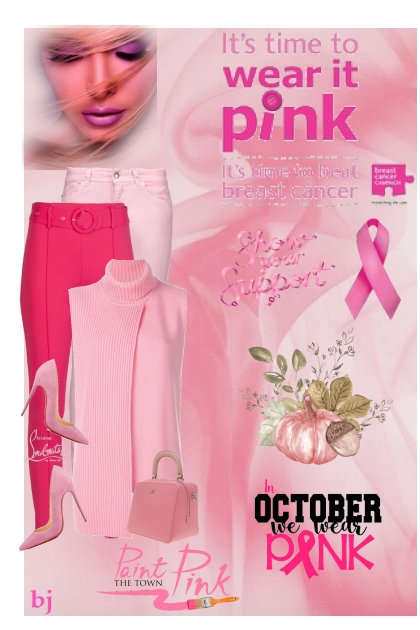 It's Time to Wear Pink