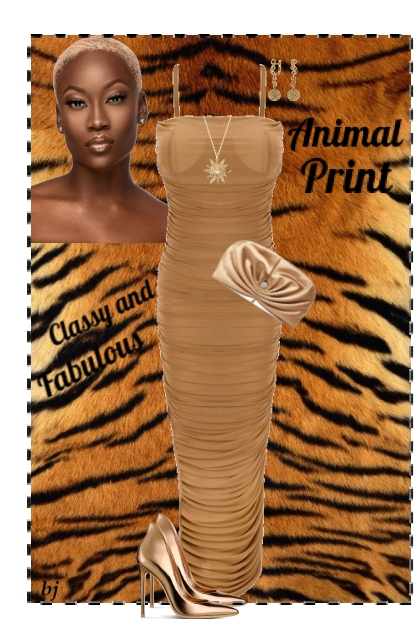 Classy and Fabulous--Animal Print