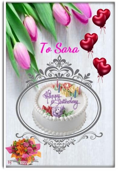 Happy Birthday, Sara