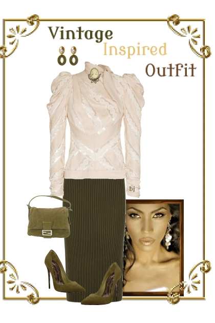 Vintage Inspired Outfit III