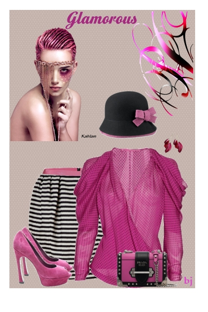 Glamorous in Pink