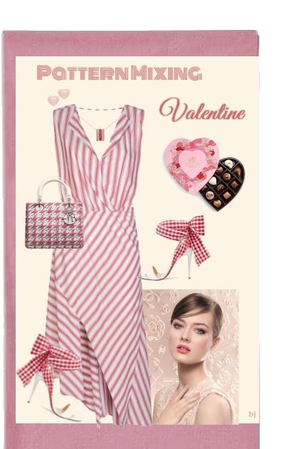 Pattern Mixing Valentine