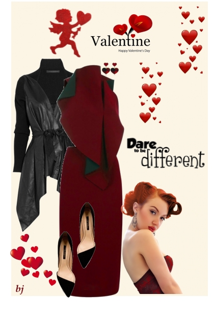 Valentine--Dare to Be Different