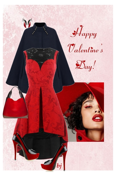 Red and Black Valentine