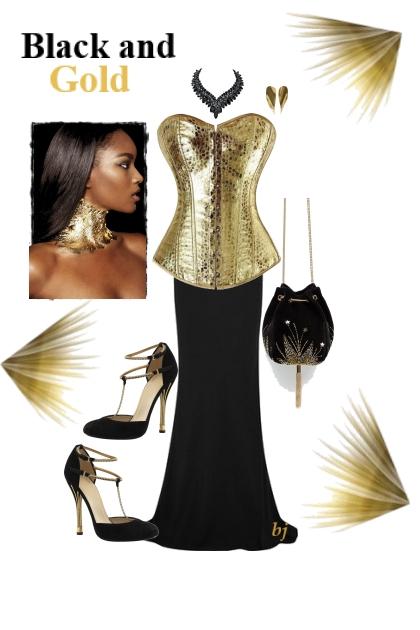 Black and Gold II