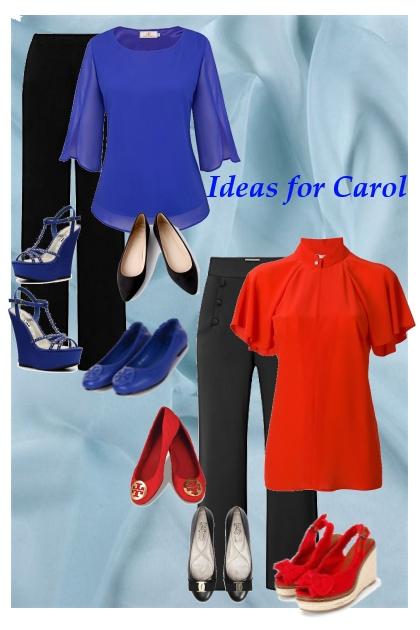 Ideas for Carol