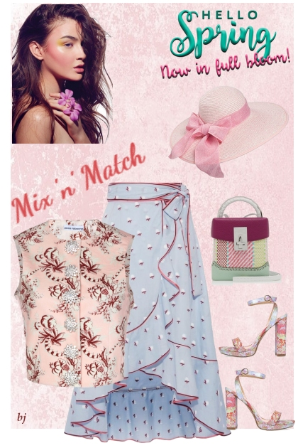 Mix and Match--Spring, Now in Full Bloom