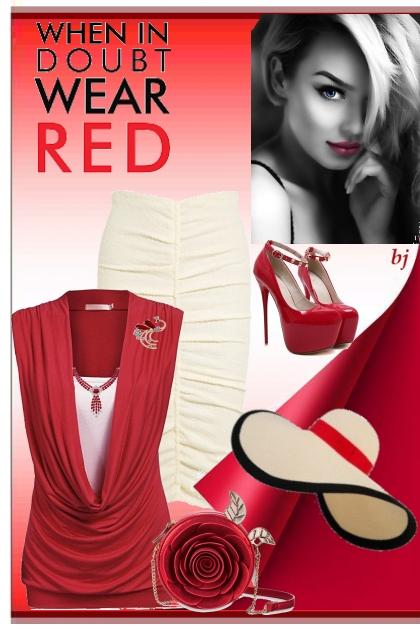 When in Doubt Wear Red 2
