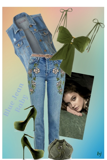 Blue Jean Baby- Fashion set