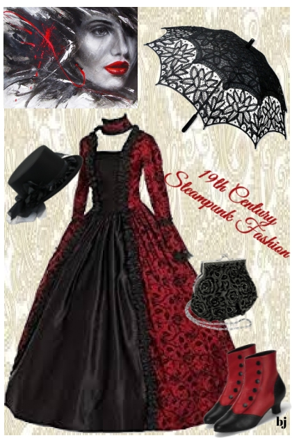 19th Century Steampunk Fashion