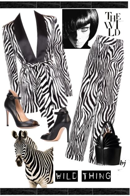Wild Thing--The Wild- combinação de moda