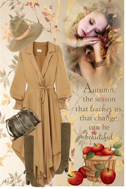 Autumn, the Season that Teaches Us....