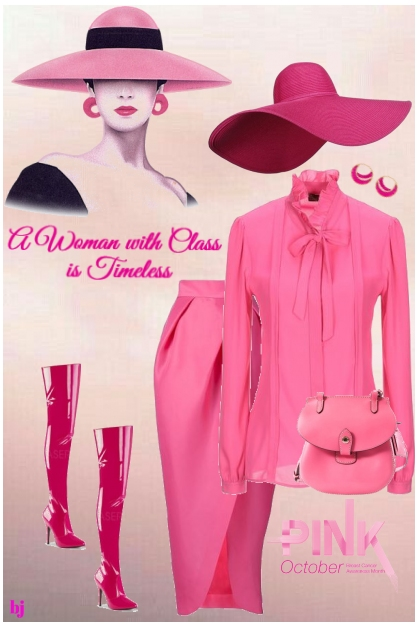 A Woman with Class is Timeless II- Fashion set