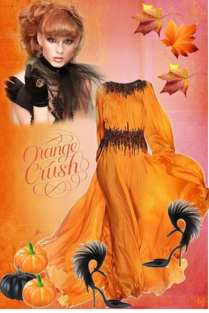 Orange Crush- Fashion set