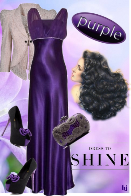 Dress to Shine--Purple
