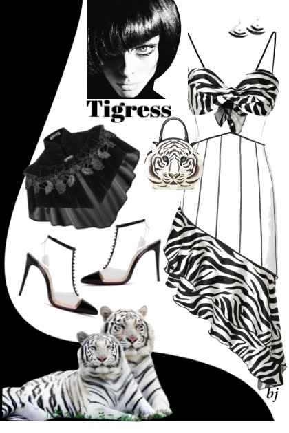 Tigress- Fashion set