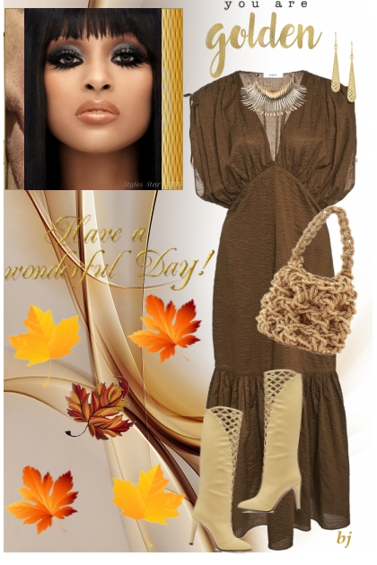 You Are Golden- Fashion set