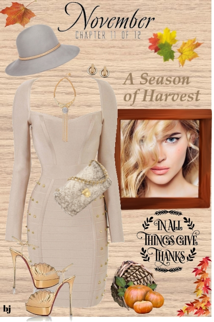 A Season of Harvest- Fashion set