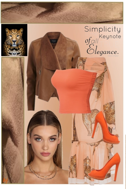 Simplicity is the Keynote of all Elegance