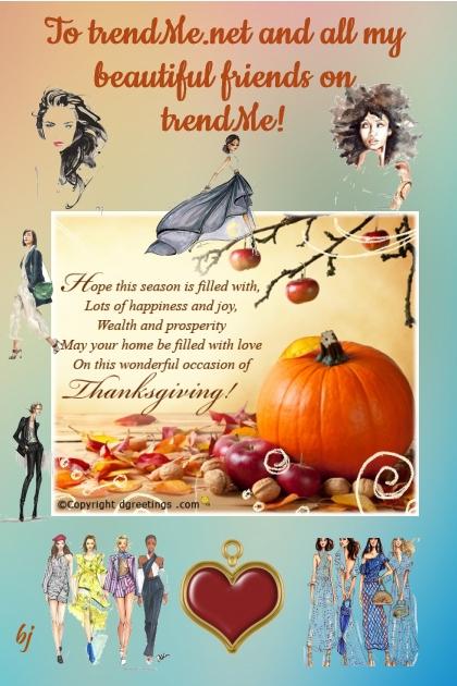 Happy Thanksgiving Season