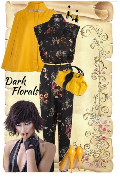 Dark Florals II