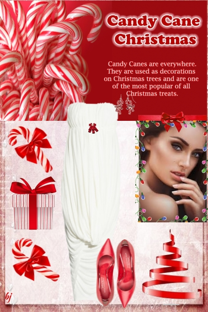Candy Canes at Christmas