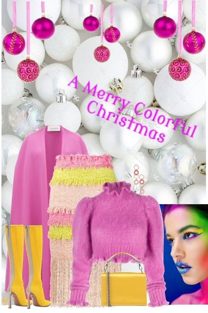 A Merry Colorful Christmas