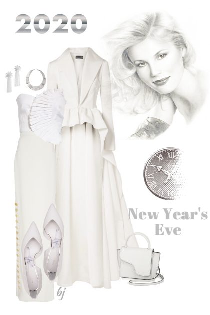 All White New Year's Eve