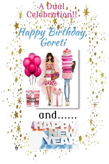 Happy Birthday Goreti!!