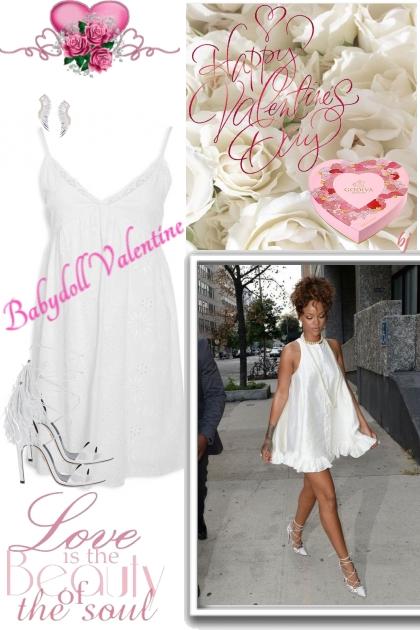 Babydoll Valentine- Combinazione di moda