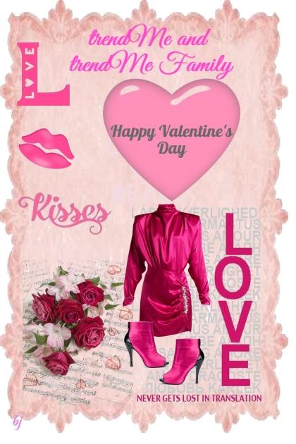 Happy Valentine's Day trendMe and trendMe Family