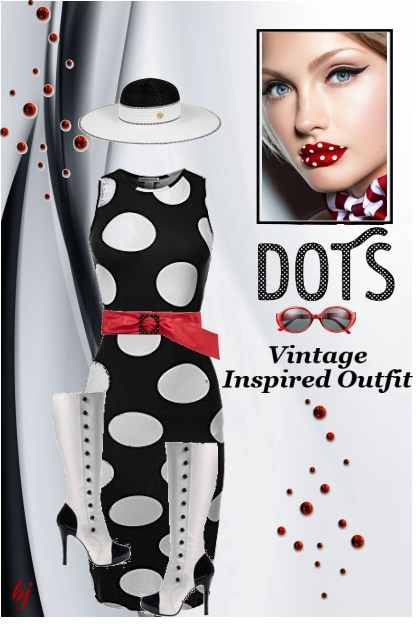 Vintage Inspired Dots