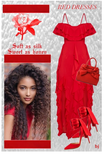 Soft As Silk...Red Dresses
