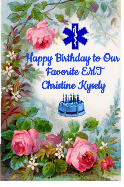 Happy Birthday Christine!!