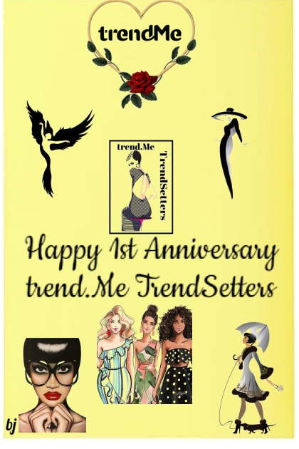Happy 1st Anniversary trend.Me TrendSetters