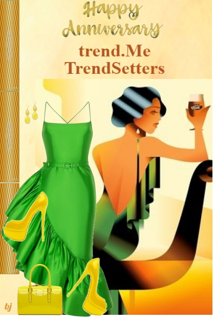 Happy Anniversary trend.Me TrendSetters