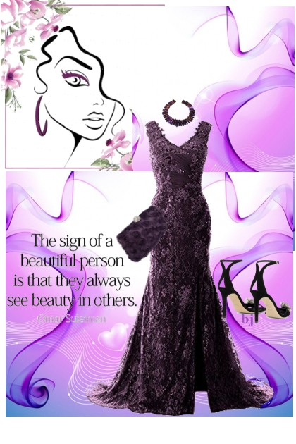 The Sign of a Beautiful Person...............- Fashion set