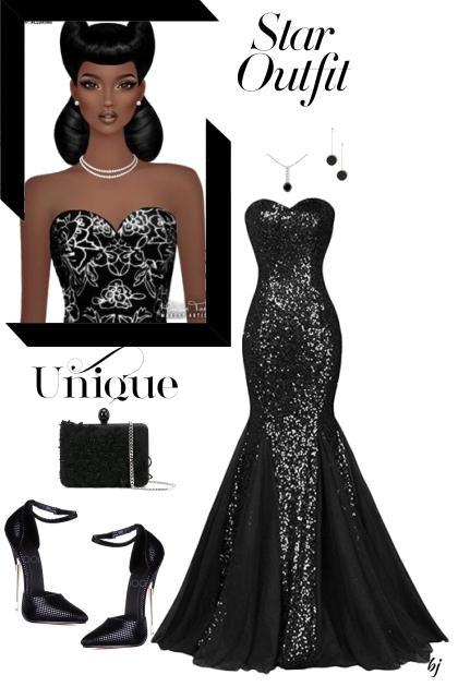 Unique--Star Outfit