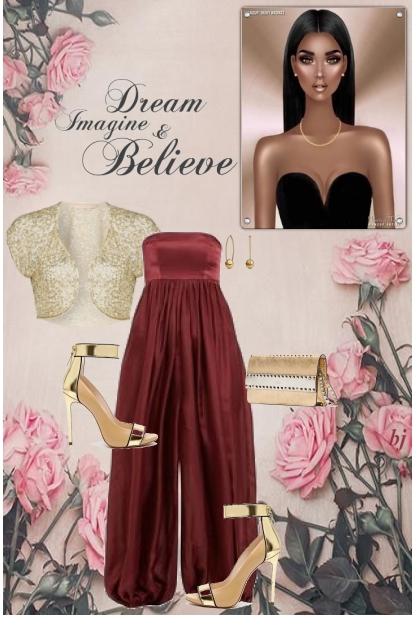 Dream Imagine and Believe 2- Fashion set