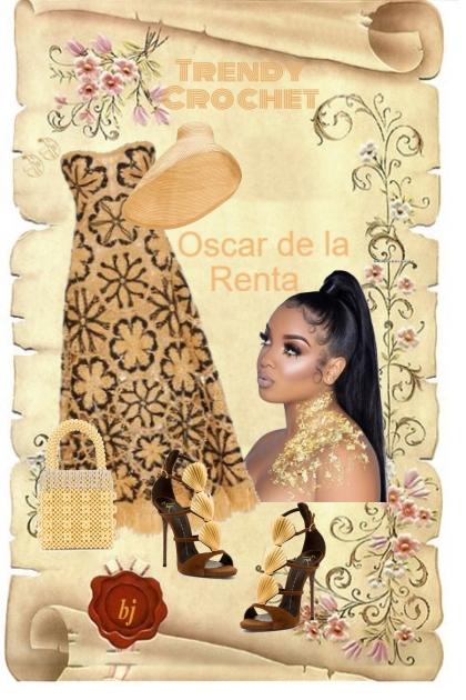 Trendy Crochet Strapless Dress
