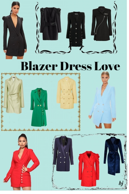 Blazer Dress Love