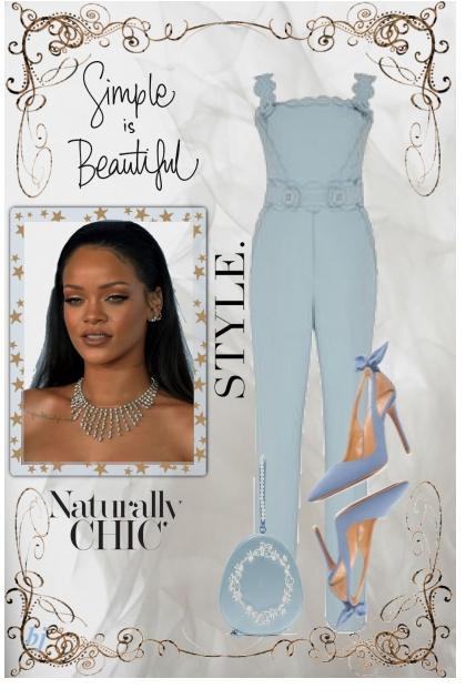Naturally Chic Style- Fashion set