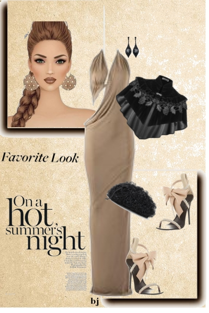 Favorite Look on a Hot Summer's Night