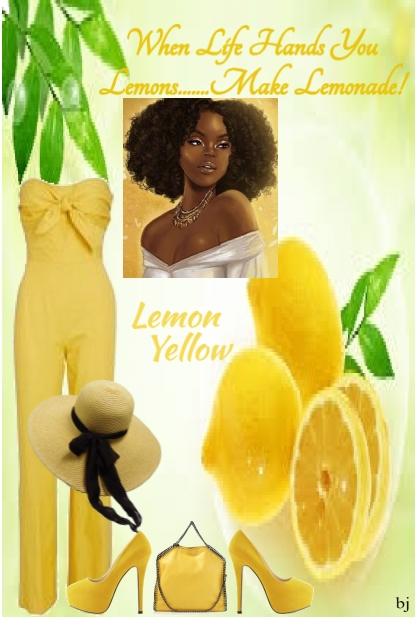 Lemon Yellow- Fashion set