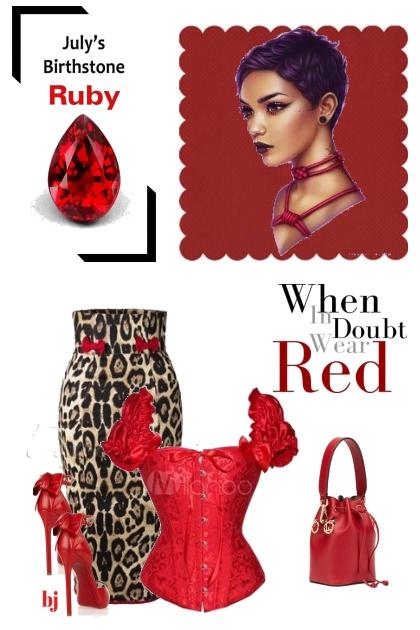 Ruby--July's Birthstone