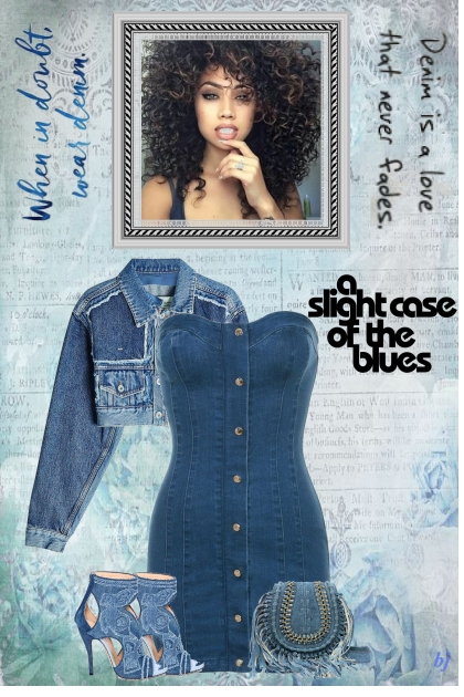 A Slight Case of the Blues-Denim