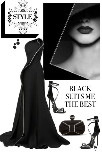 Black Suits Me Best 2