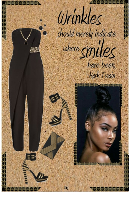 Wrinkles..........Where Smiles Have Been- Fashion set